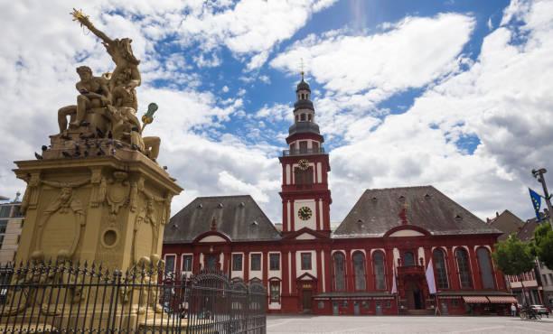 W mannheim kosciol polski Pałac w