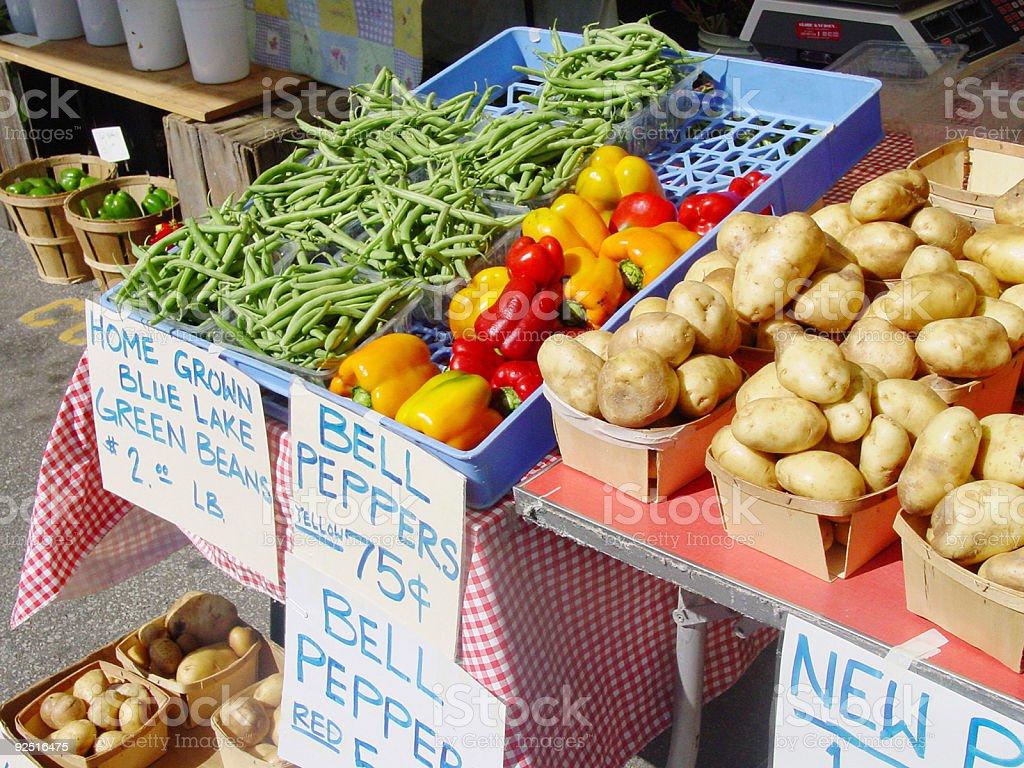 Market place royalty-free stock photo