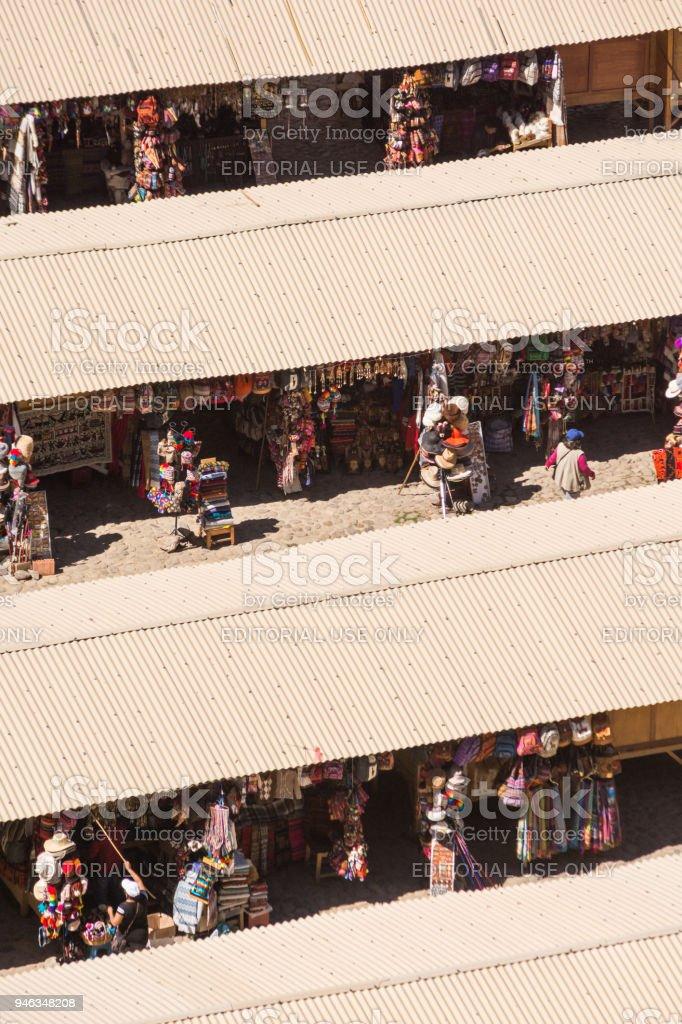 Inca Plaza Con Artesanales Elementos Locales De Mercado Recuerdos NP8nOwk0X
