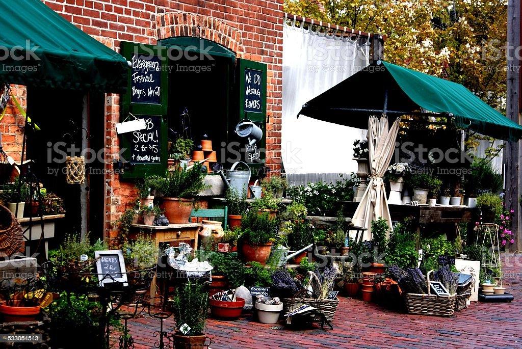 market shop stock photo