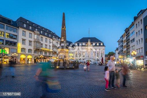 istock market square in Bonn / Germany 1279371040