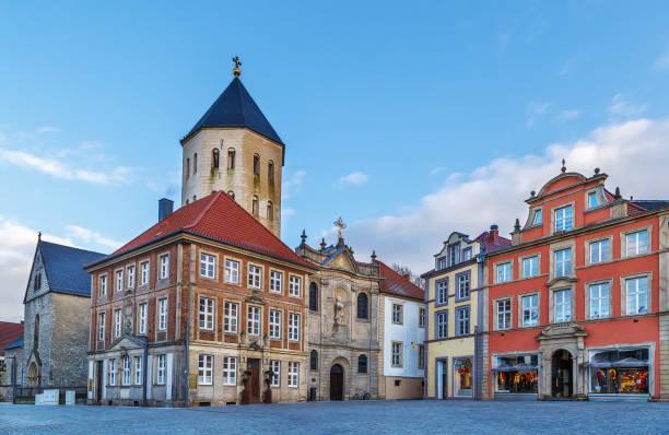 Marktplatz, Paderborn, Deutschland – Foto
