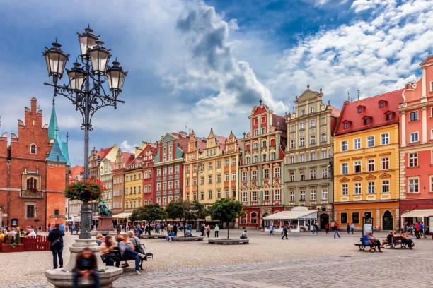 Place du Marché - Wroclaw, Pologne - Photo