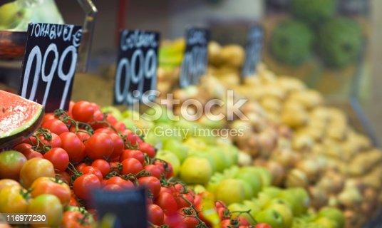 istock Market stall. 116977230