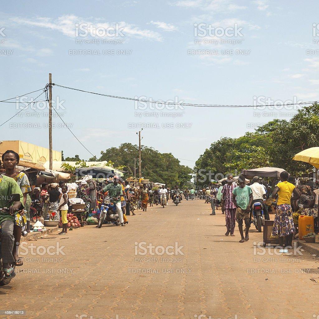 Market street. royalty-free stock photo