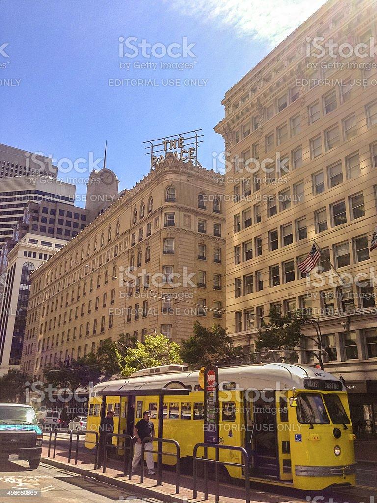 Market Street, San Francisco royalty-free stock photo