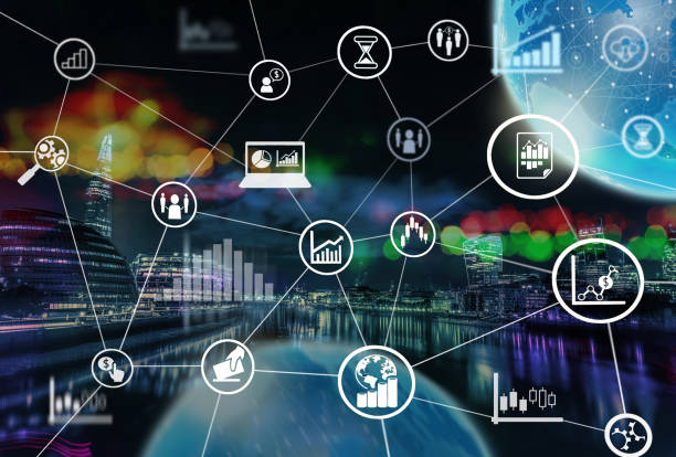 Market Technology stock photo