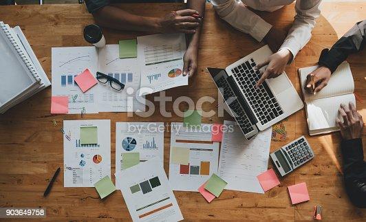 istock Marketing Analysis Accounting Team Teamwork Business Meeting Concept 903649758