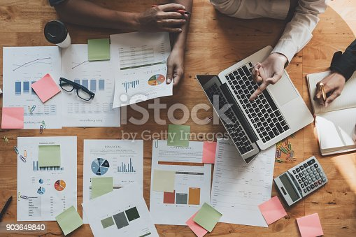 istock Marketing Analysis Accounting Team Teamwork Business Meeting Concept 903649840