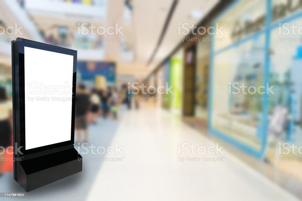 Marketing and advertisement concept digital signage billboard or...