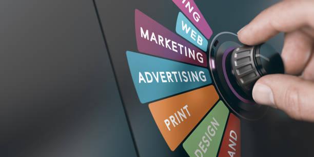 Marketing-und Kommunikationsstrategie, Monitoring Advertising Campaign. – Foto