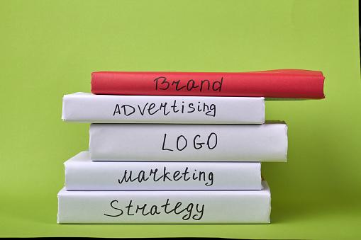 istock Marketing books for education. 1270300208
