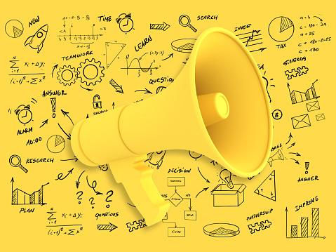 Marketing campaign strategy advertisement brand megaphone