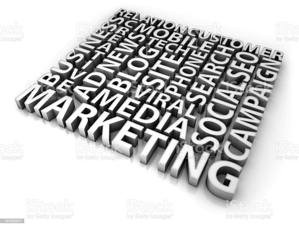 Marketing concept royalty-free stock photo