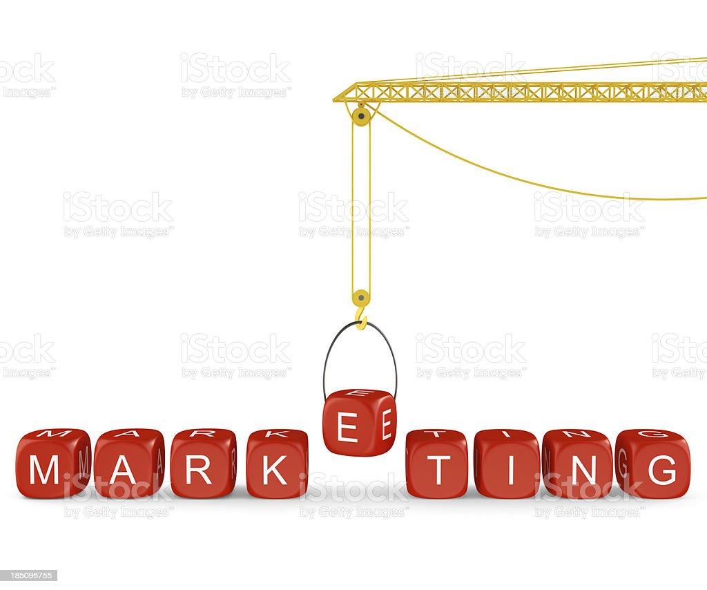 Marketing Concepts royalty-free stock photo