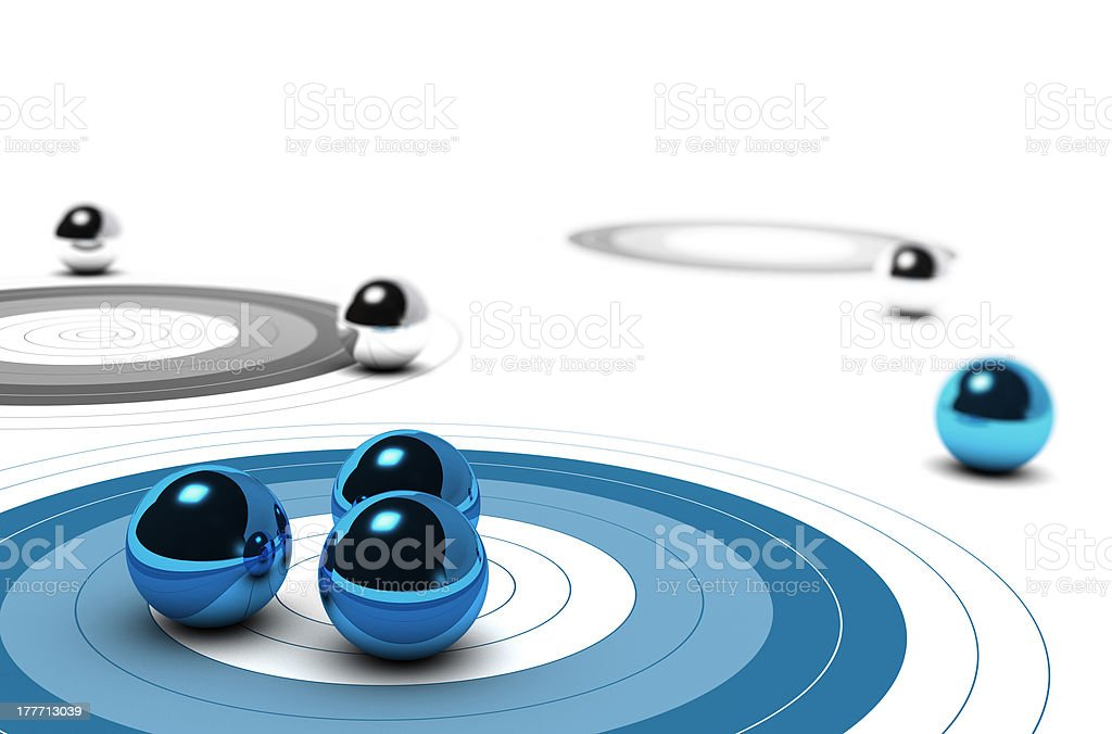 Marketing Core Target Concept royalty-free stock photo