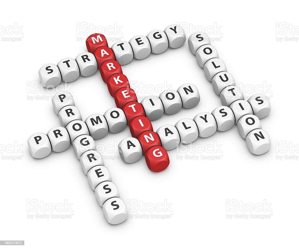 marketing crossword stock photo 183241672 | istock, Powerpoint templates