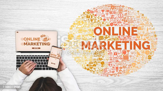 istock Marketing of Digital Technology Business Concept 1168319595