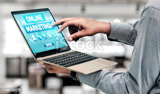 istock Marketing of Digital Technology Business Concept 1169700179