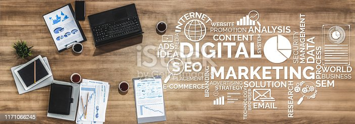 istock Marketing of Digital Technology Business Concept 1171066245