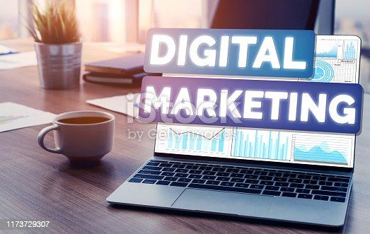 1133586715istockphoto Marketing of Digital Technology Business Concept 1173729307
