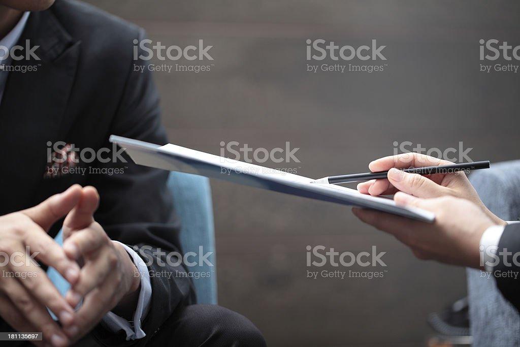 Marketing Presentation stock photo