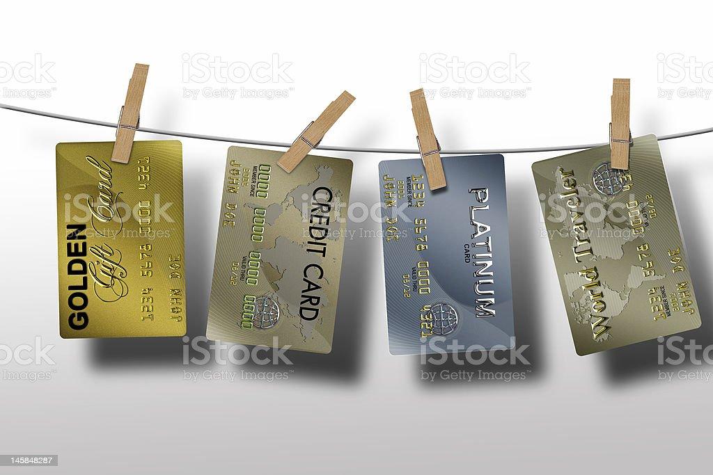 Marketing sales on credit royalty-free stock photo