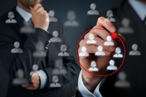 Marketing Segmentation Stock Photo - Download Image Now