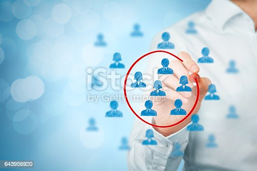 istock Marketing segmentation 643956920