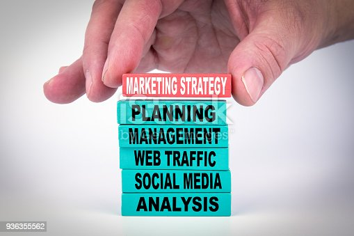 625727674 istock photo Marketing Strategy. Business Concept 936355562