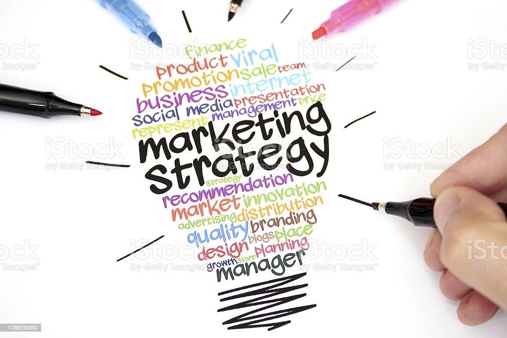 Marketing Strategy royalty-free stock photo