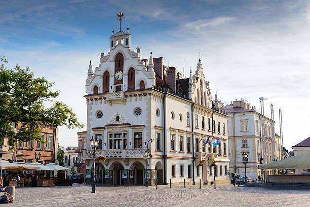 Marketplace und Rathaus in Rzeszów, Polen – Foto
