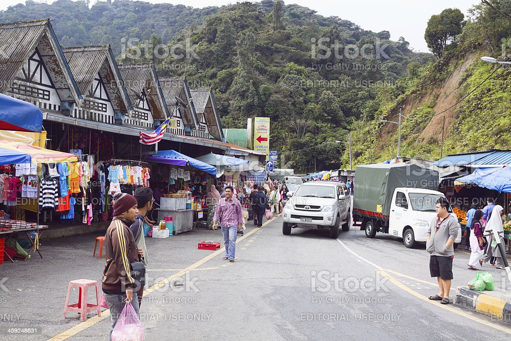 Markets of Kea Farm stock photo