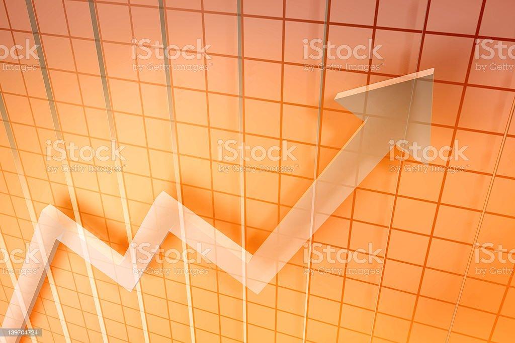 Markets up royalty-free stock photo