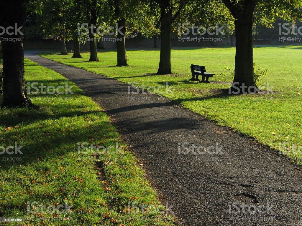 Markfield Park, North London royalty-free stock photo