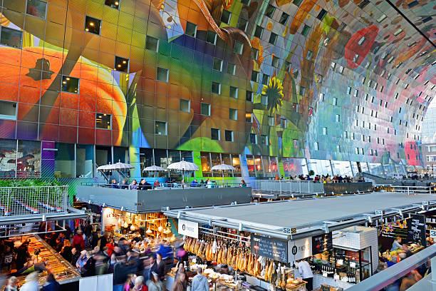 Markthal Rotterdam Paesi Bassi - foto stock