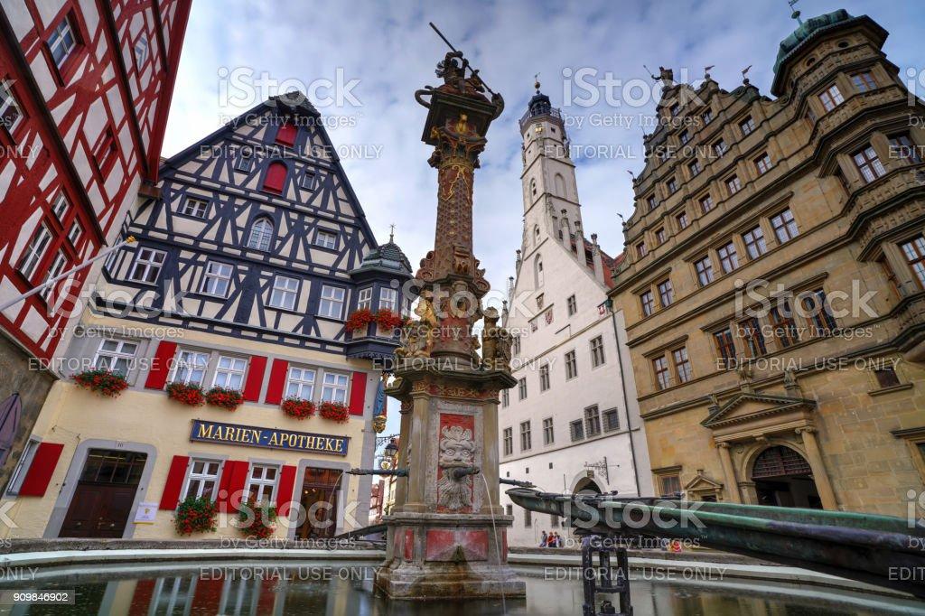 Marktplatz, Rothenburg – Foto