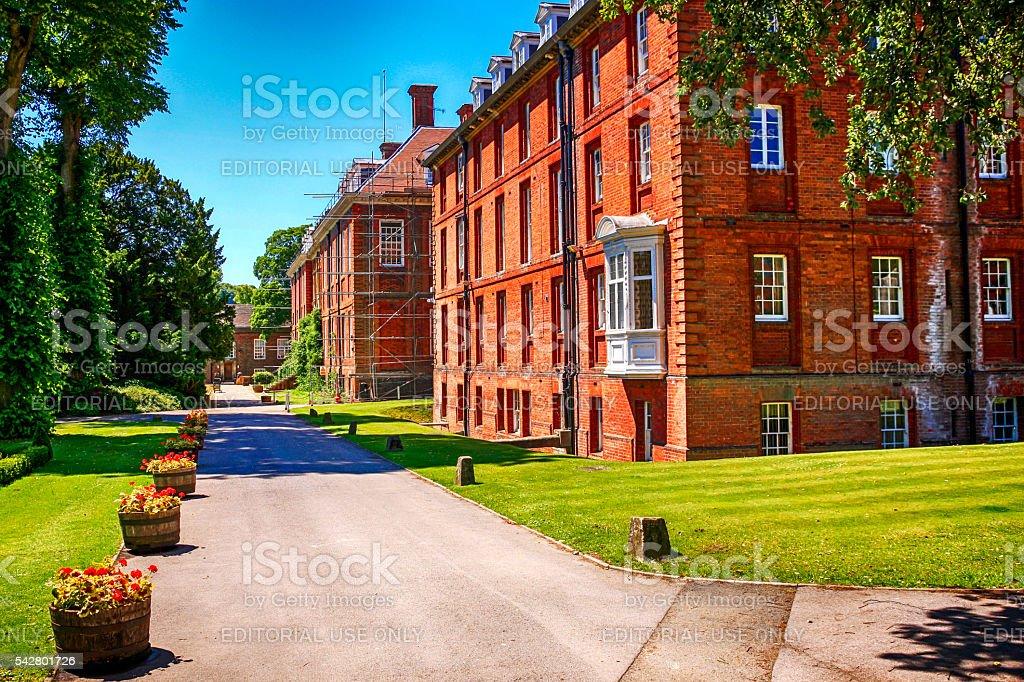 Marlborough College campus, UK stock photo
