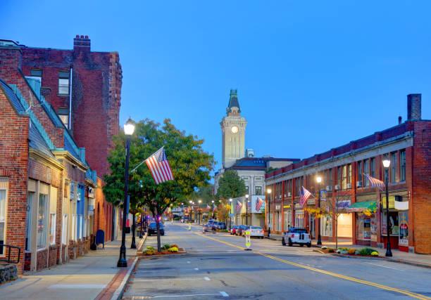 Marlborough, Massachusetts stock photo