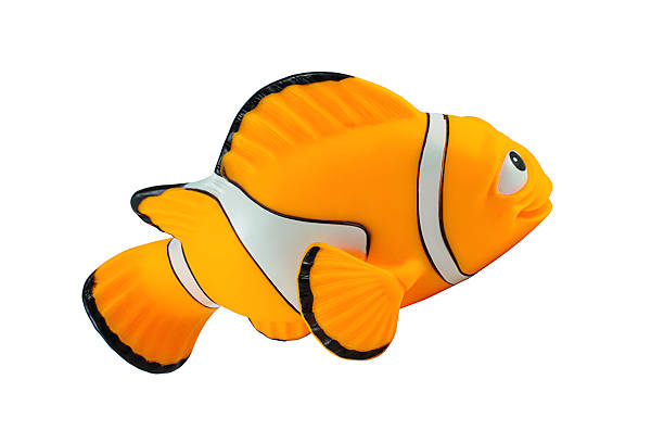 Marlin fish toy character from Finding Nemo Bangkok,Thailand - November 23, 2014: Marlin fish toy character from Finding Nemo movie from Disney Pixar animation studio. nemo museum stock pictures, royalty-free photos & images
