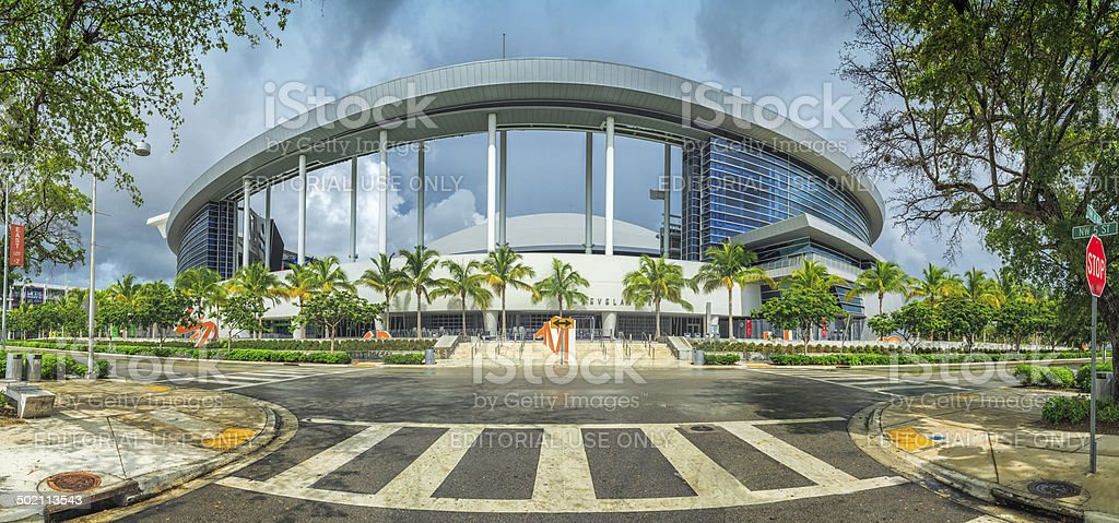 Marlins Park Miami Baseball Stadium Stock Photo Download