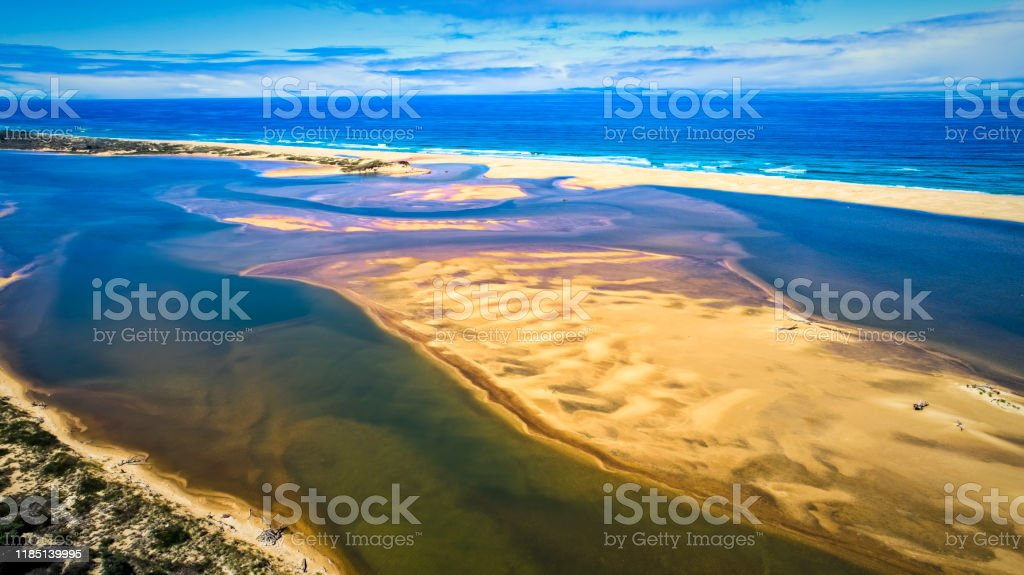 Marlo Beach - Royalty-free Aerial View Stock Photo