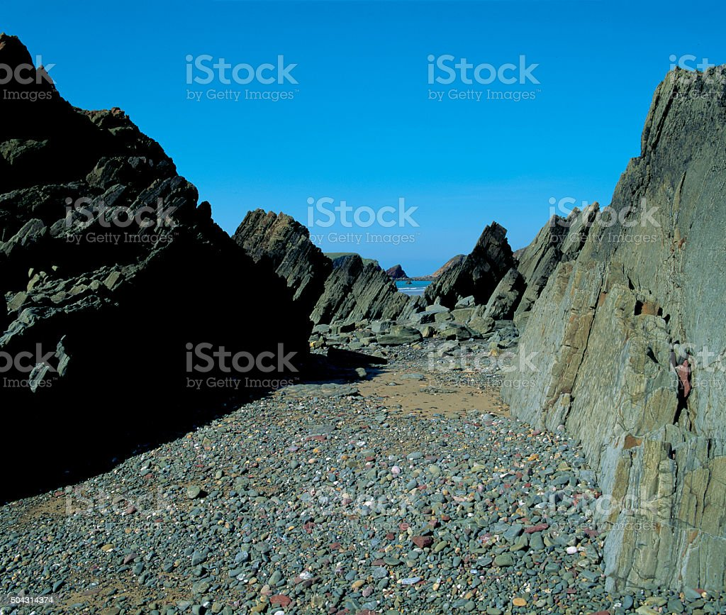 Marloes Sands, Pembrokeshire, UK stock photo