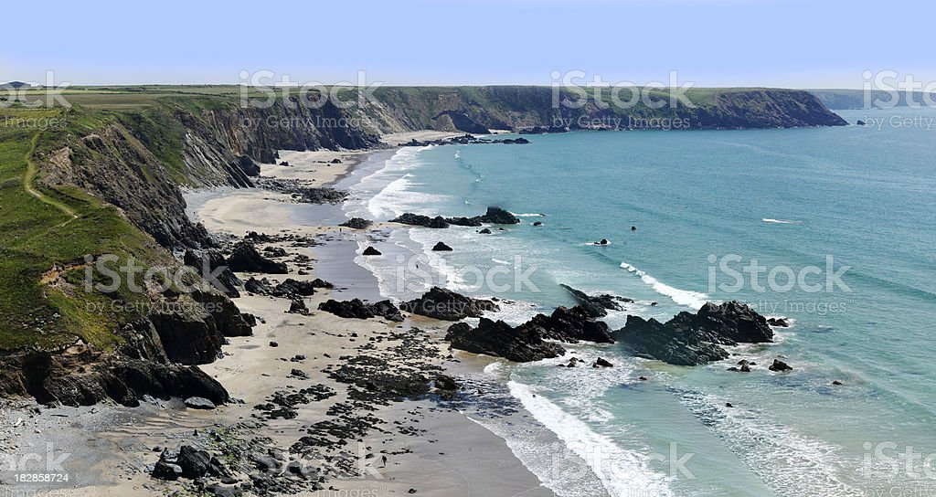 marloes sands royalty-free stock photo