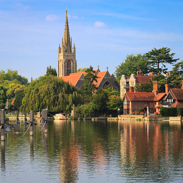 Marlow Buckinghamshire Stock Photos, Pictures & Royalty ...