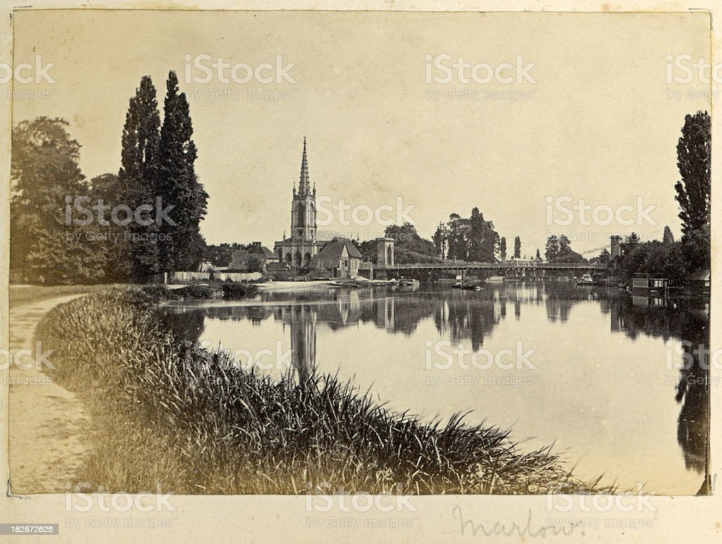 Marlow Vintage Photograph stock photo