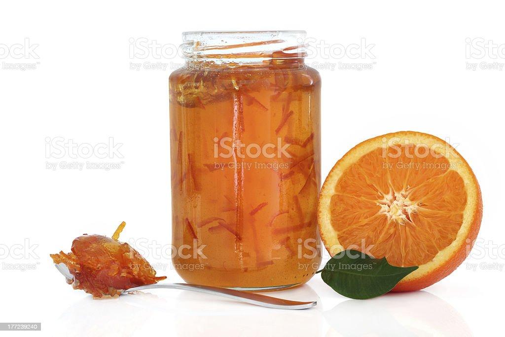 Marmalade Jam stock photo