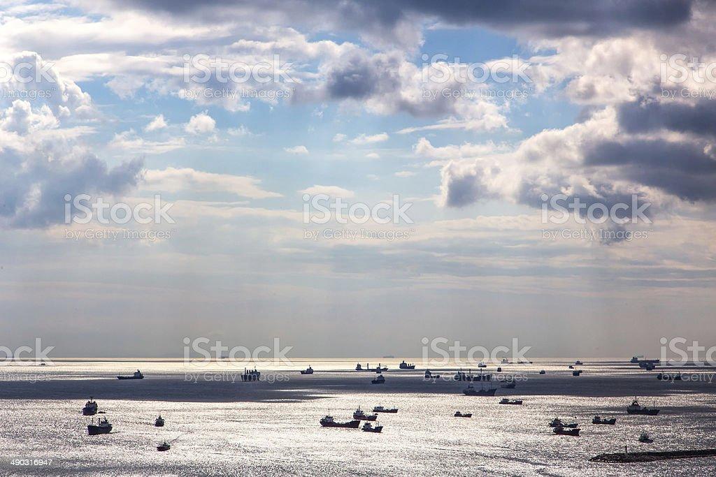 Marmara Sea stock photo