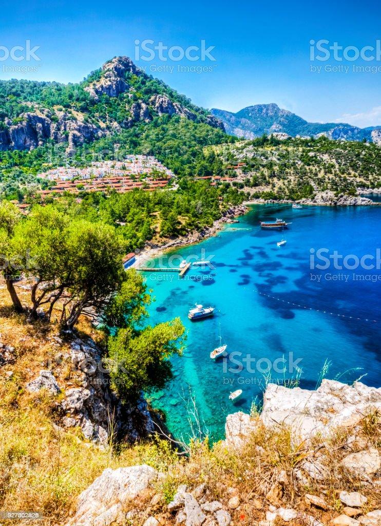 Marmaris Province in Turkey stock photo
