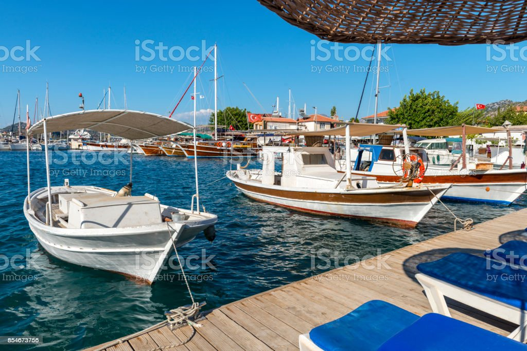 Marmaris Selimiye stock photo